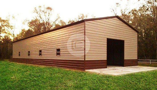 24x51 Vertical Garage