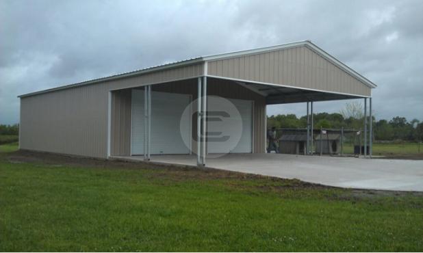 26x52x12 Custom Garage (large)