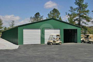 40x61x11 Steel Garage