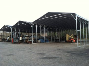 72x80x14 Custom Built Carport