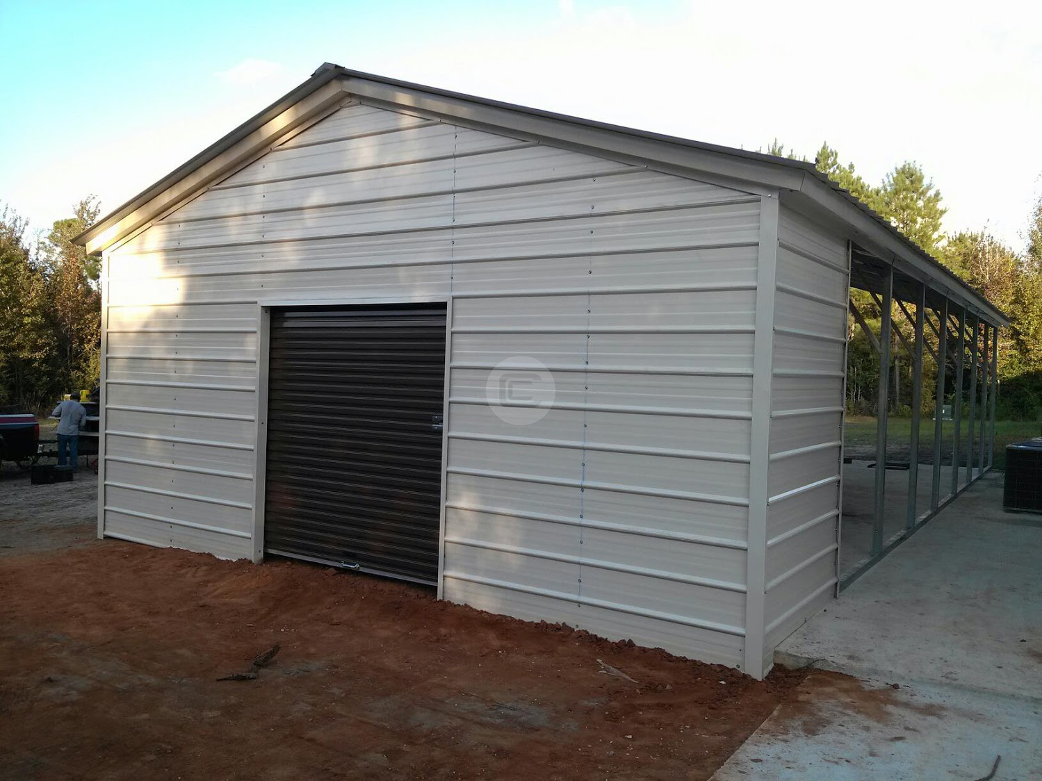 Beautiful garage workshop buildings 8 carport conversion for Attractive carport
