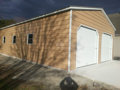 24x41x10 Two Car Garage1