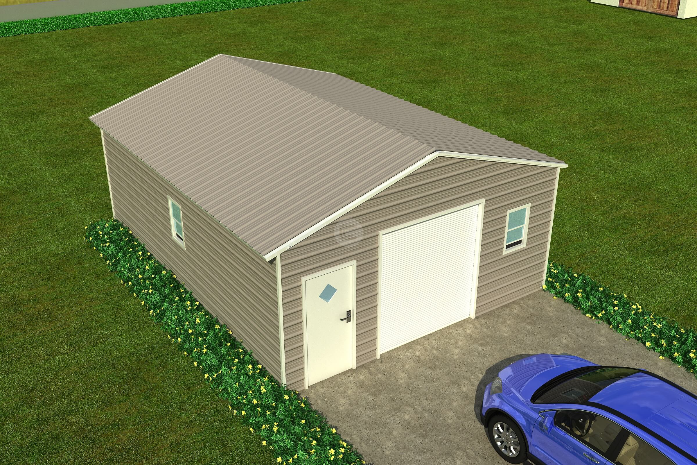 Tips for maintaining metal garages and metal carports for Carports and garages