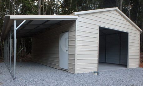 Lean to metal carports and buildings worth it carport for Lean to addition to garage