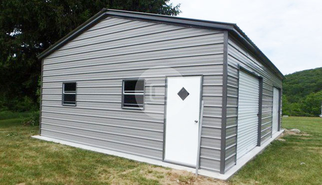 22×31 Side Entry Garage