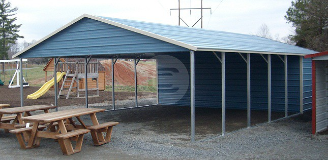 Sloped-Roof-Carport