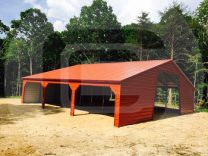 Continuos Roof Barn - F