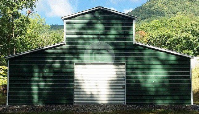 Raised Center Aisle - Carolina Barn- front