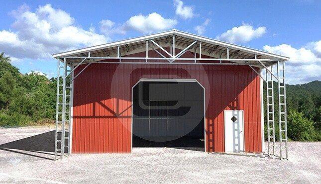 Steel Utility Building