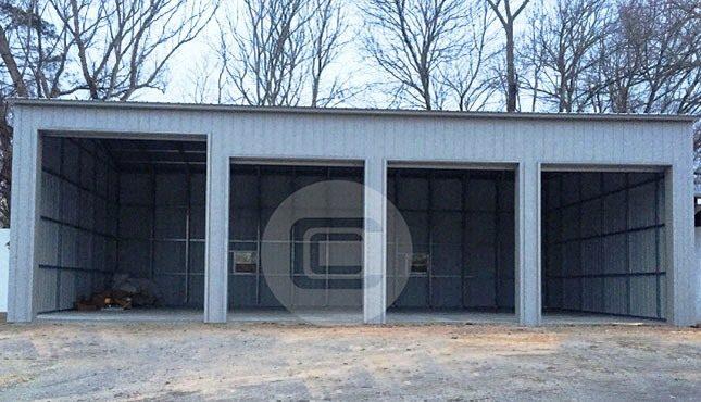 24x51x14 Side Entry Garage1