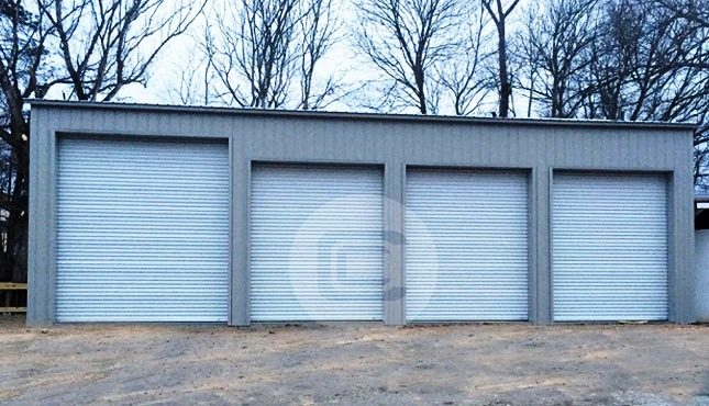24x51x14 Side Entry Garage2