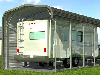 Motorhome Carports Amp Covers Motor Home Shelters For Sale