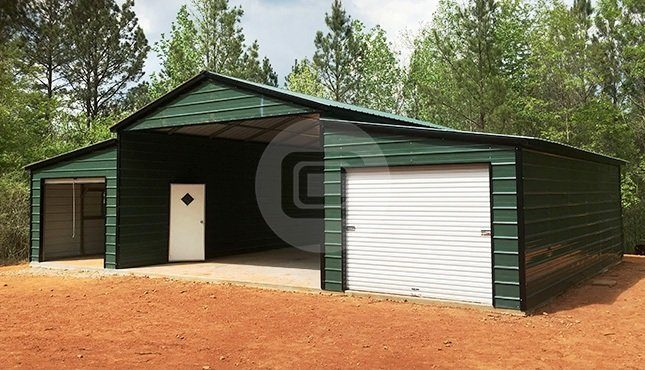Georgia Metal Barn