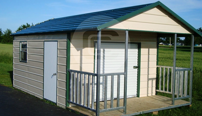 12×12 Outdoor Storage Building