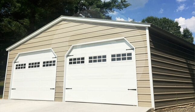 18x20 Garage Plans : Car garage metal for parking