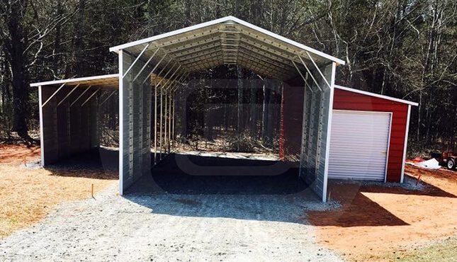 Custom Carolina Barn Front