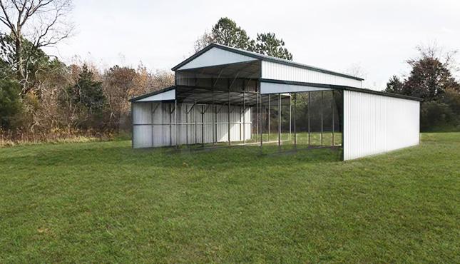 44×41 Metal Carolina Barn