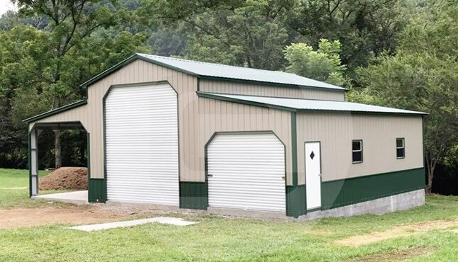 Deluxe Carolina Barn-Front