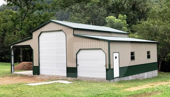 Deluxe Carolina Barn front