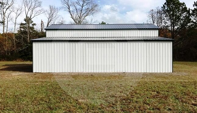 Metal Carolina Barn-Side