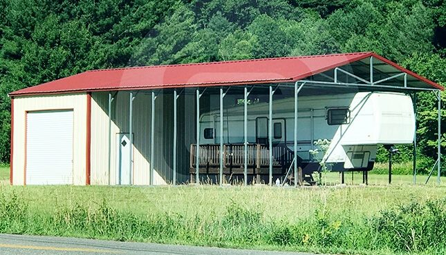 RV Shelter with Utility
