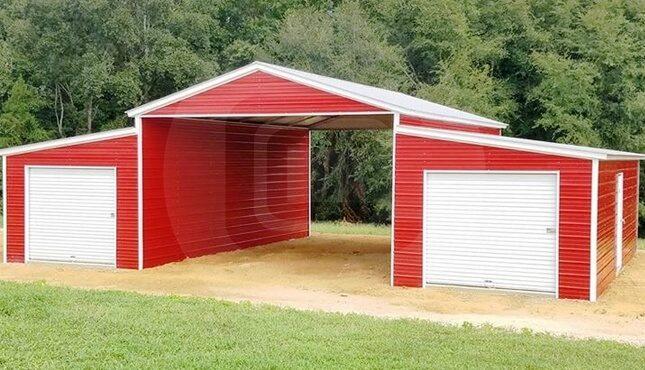 Step down barn