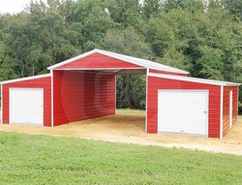Step-down-barn-roof