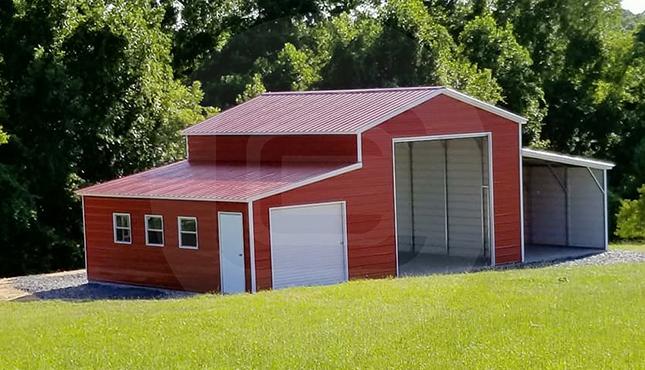 48×36 Step Down Roof Barn