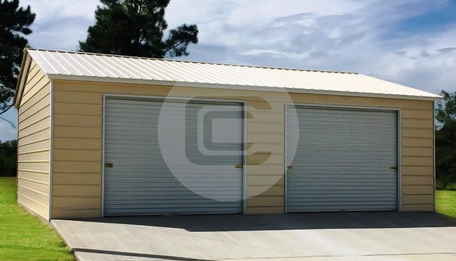 24x26 Side Entry Garage