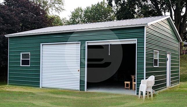 24×31 Certified Metal Garage