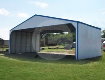40x30 Commercial Shed-1