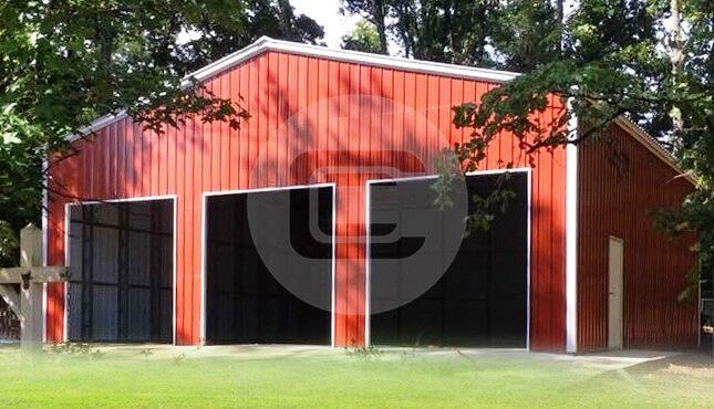 50x50x16-Clear Span Garage-4