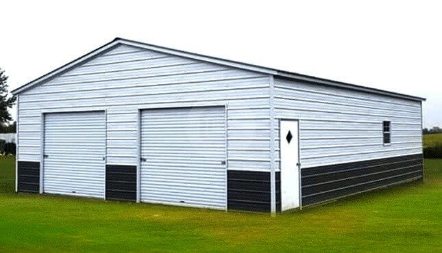 2-Car-Prefab-Garage-Kit