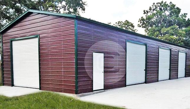 24×51 Side Entry Garage Workshop