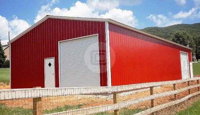30x61x12 Wind Certified Garage-1