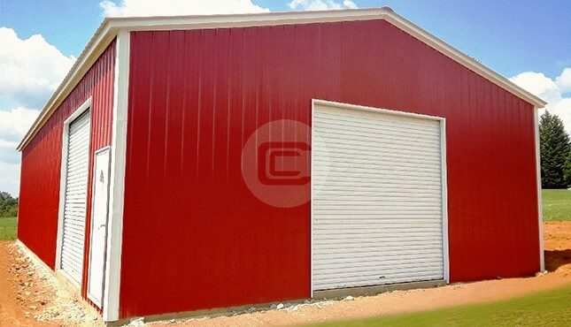 30x61x12 Wind Certified Garage-2