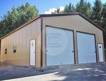 28x41 prefab garage workshop buy metal garage workshop online for Clear span garages