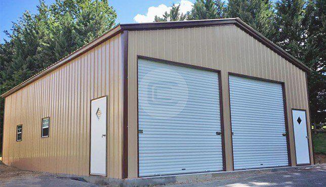 28x41x12 Prefab Garage Workshop Buy Metal Garage Workshop