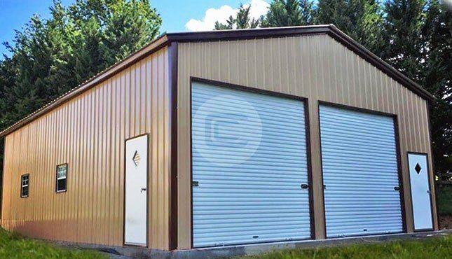 Clear-Span-Garage-Workshop