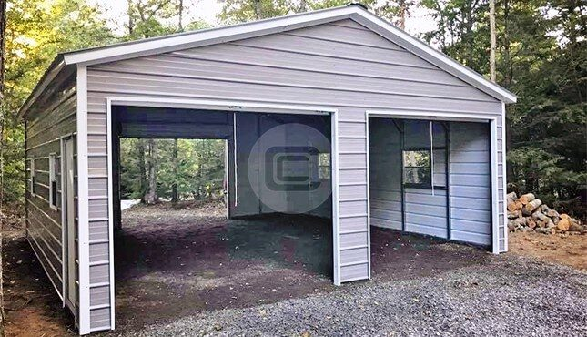 Insulated Metal Garage