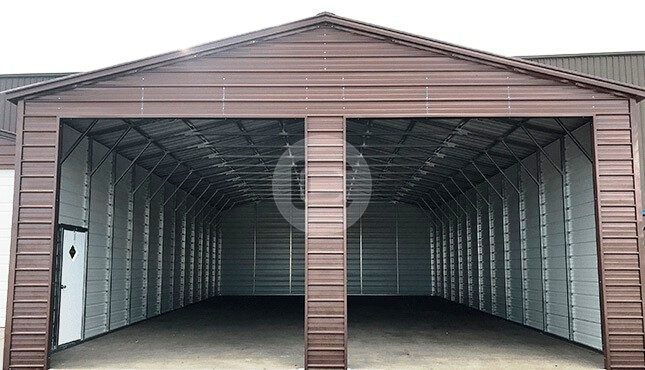 30x51x13 Two Car Garage Steel Garage For Cars