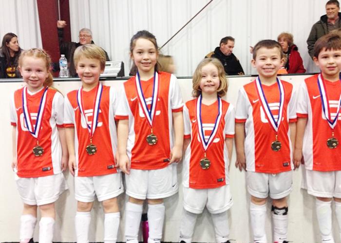 U6 Soccer Champions