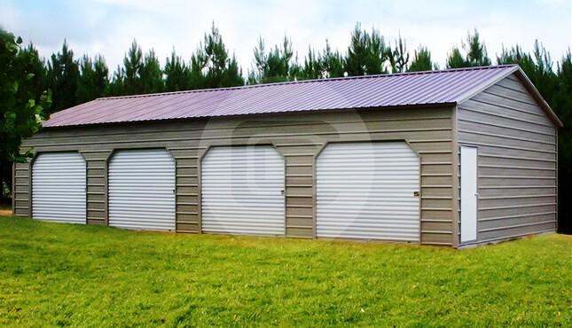 20×46 Side Entry Storage Building