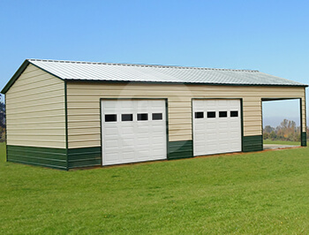 22x41x12 Two-Tone Side Entry Garage-1