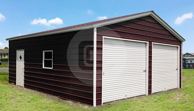 9 feet tall metal garage