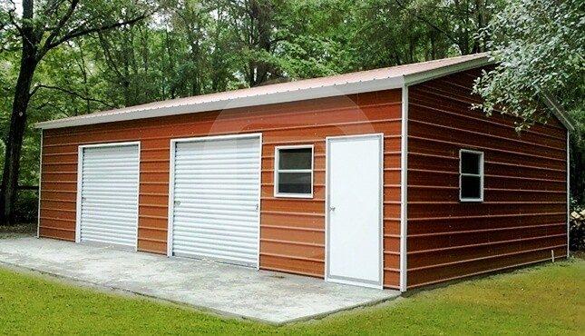 14 24 Metal Carport : Car parking garage tall metal price