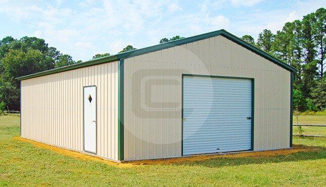 24x36 detached metal garage 2 car garage price for 24x36 garage