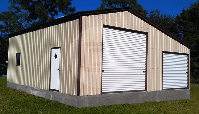 30x30 Metal Building