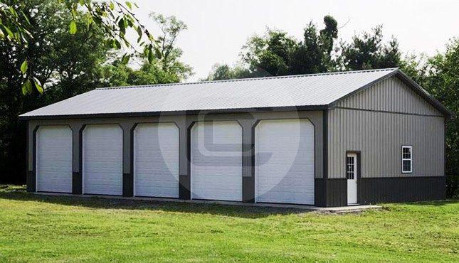 36x56x12-enclosed-side-entry-garage-gallery