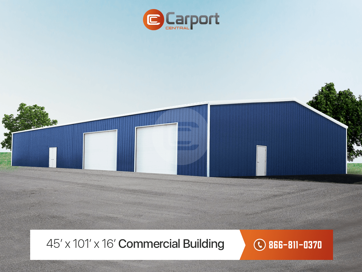 45x 101x 16 Commercial Building